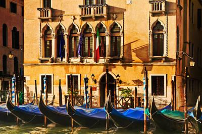 Gondola Parking Only Art Print