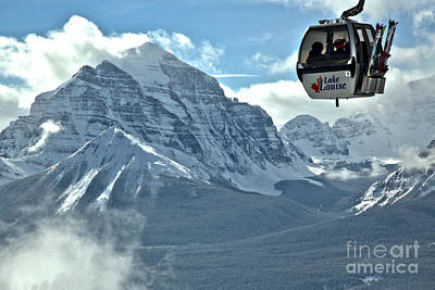 Photograph - Hanging Above The Canadian Rockies by Adam Jewell