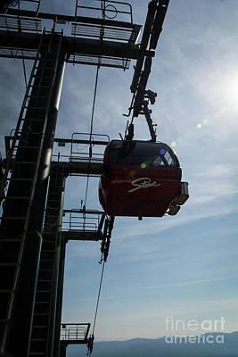 Photograph - Gondola Skyride by Deborah Klubertanz