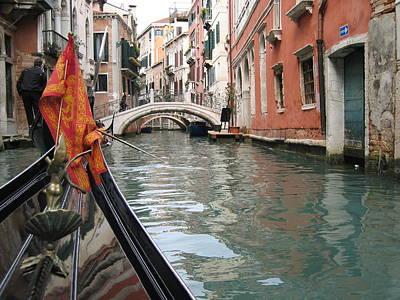 Photograph - Gondola Voyage by Dylan Punke