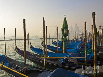 Photograph - Gondolas At San-marco, Venice, Italy by Svetlana Batalina