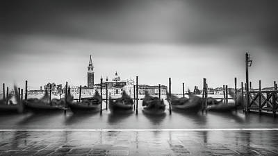 Photograph - Gondolas In The Waves by James Billings