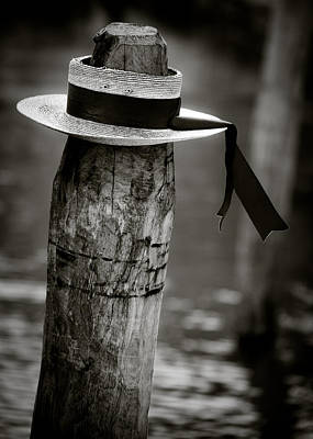Disused Photograph - Gondolier Hat by Dave Bowman