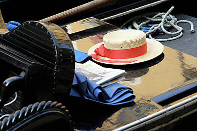Photograph - Gondolier's Hat by Vicki Hone Smith