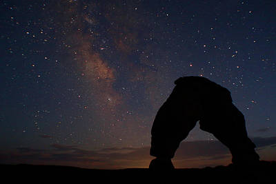 Photograph - Gone Down The Milky Way by Jon Emery