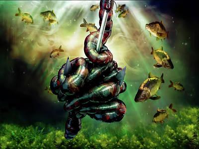 Digital Art - Gone Fishin by Adam Vance