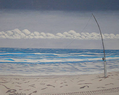 Painting - Gone Fishing by Edward Maldonado