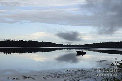 Photograph - Gone Fishing by Larry Ricker