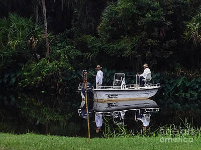 Digital Art - Gone Fishing by Laurel D Rund