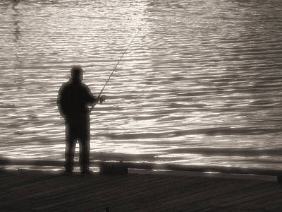 Photograph - Gone Fishing by Mark Alan Perry