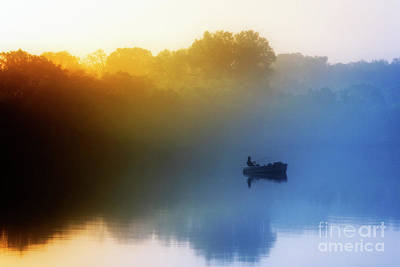 Art Print featuring the photograph Gone Fishing by Scott Kemper