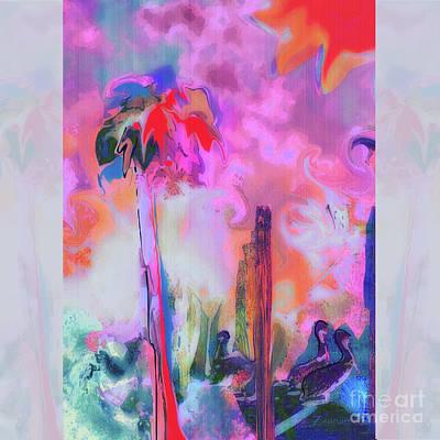 Digital Art - Gone Fishing by Zsanan Narrin
