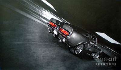 Automotive Drawing - Gone In 60 by Raoul Alburg
