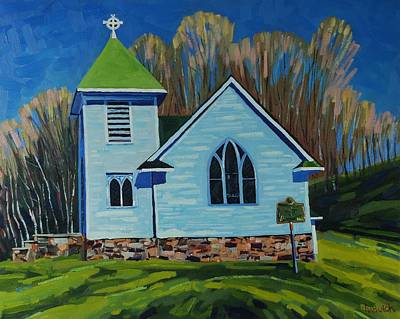 Gone To Church Original by Phil Chadwick