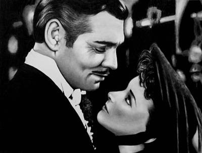 Drawing - Gone With The Wind by Rick Fortson