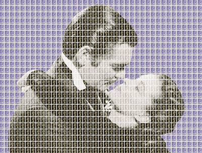 Gone With The Wind - Violet Original
