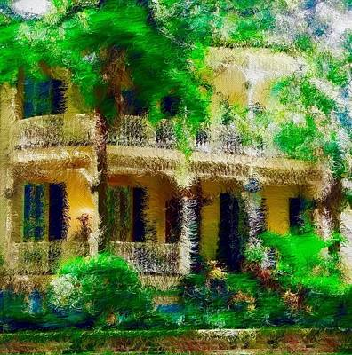 Fleetwood Mac - Gone With the Winds Series Yellow Verandas by Jacqueline Manos