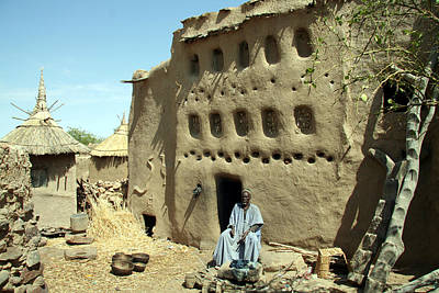 Dogon Country Photograph - Gono Mo 2006 by Huib Blom