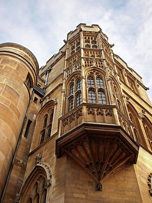 Gonville And Caius College Library Cambridge Art Print by Gill Billington