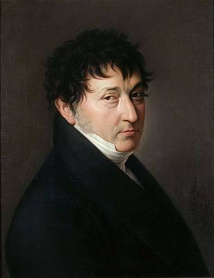 Painting -  Gonzalez Velazquez   Self Portrait 1810  13  by Artistic Panda