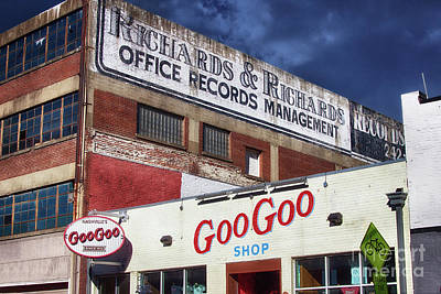 Snack Bar Photograph - Goo Goo Shop by Tom Gari Gallery-Three-Photography