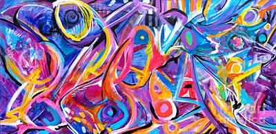 Painting - Good Advice  by Expressionistart studio Priscilla Batzell