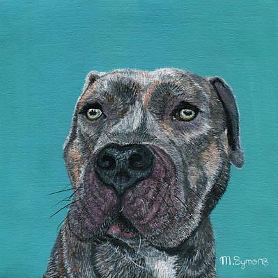 Mastif Painting - Good Boy by Melissa Symons