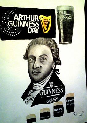 Good Day For A Guinness Art Print