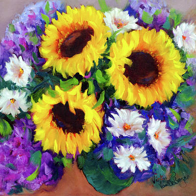 Painting - Good Day Sunflowers by Vicki VanDeBerghe