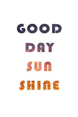 Photograph - Good Day Sunshine by David Simchock