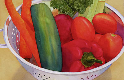 Painting - Good Eats by Judy Mercer