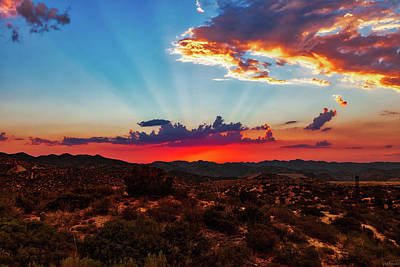 Photograph - Good Evening Arizona by Rick Furmanek