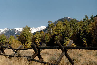 Photograph - Good Fences Make Good Neighbors .... Robert Frost by John Schneider
