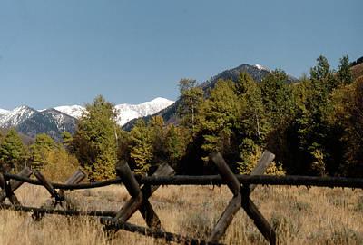 Photograph - Good Fences Make Good Neighbors .... Robert Frost by John Schneider