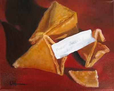 Painting - Good Fortune by LaVonne Hand