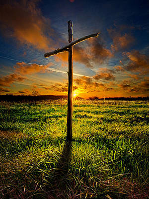 Jesus Photograph - Good Friday by Phil Koch