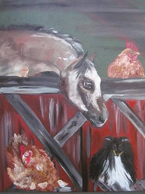 Painting - Good Friends by Susan Snow Voidets