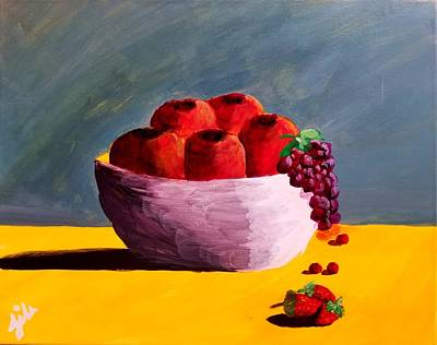 Painting - Good Fruit by Tornado Thien