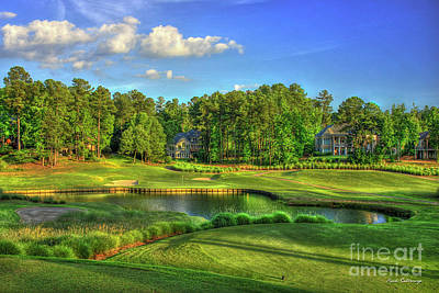 Golf Art Photograph - Good Golf The Landing Reynolds Plantation Golf Art by Reid Callaway