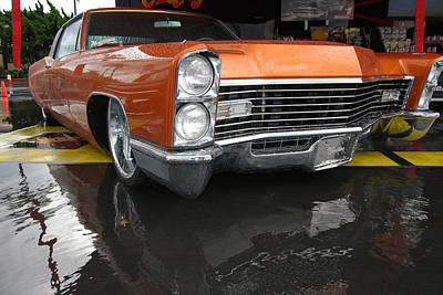 Photograph - Good Guys Caddy by Bill Dutting