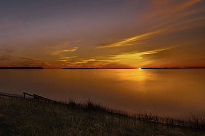 Photograph - Good Harbor Bay Sunset by William Christiansen