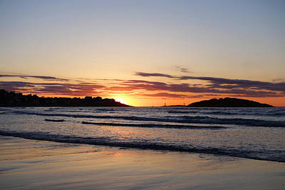 Good Harbor Beach At Sunrise Gloucester Ma Art Print