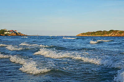 Photograph - Good Harbor Beach At Sunset Gloucester Ma by Toby McGuire