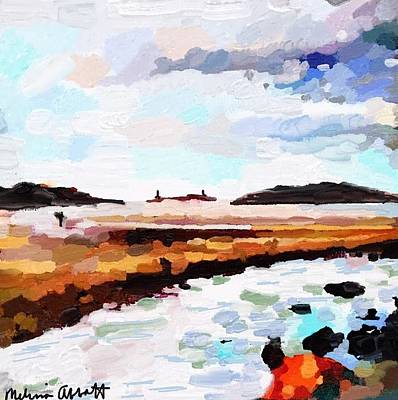 Good Harbor Beach, Salt Island, And Thatcher's Island Art Print