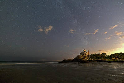 Photograph - Good Harbor Beach Under The Stars And Milky Way by Toby McGuire