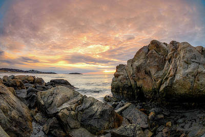Photograph - Good Harbor,rock View by Michael Hubley