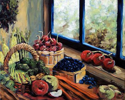 Good Harvest Print by Richard T Pranke