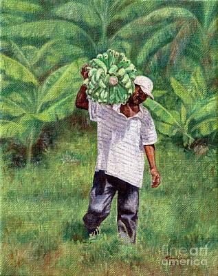 Painting - Good Harvest by Roshanne Minnis-Eyma