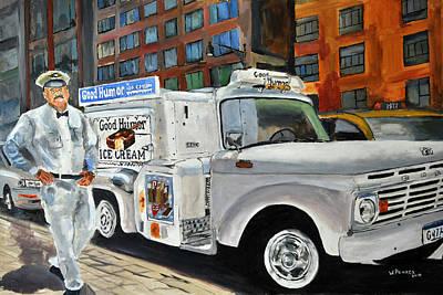 Wall Art - Painting - Good Humor Man by Wayne Pearce