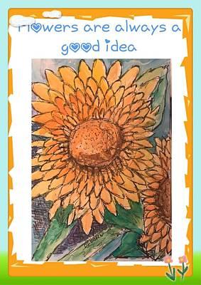 Painting - Good Idea  by Dottie Phelps Visker